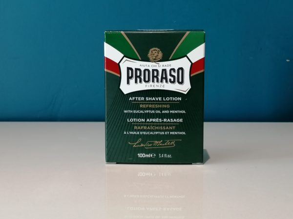 After Shave Lotion Eucalyptus Oil and Menthol 100ml - Proraso
