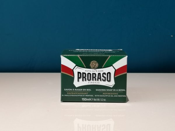 Shaving Soap In A Bowl Eucalyptus Oil and Menthol 150ml - Proraso